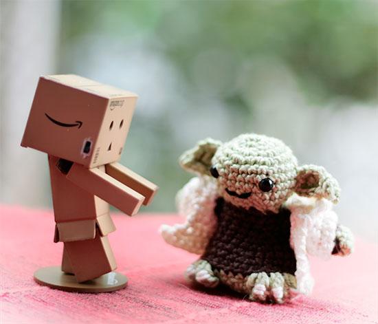 Yoda und Danbo