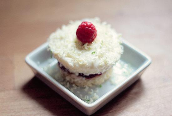 Joghurt-Himbeer-Törtchen